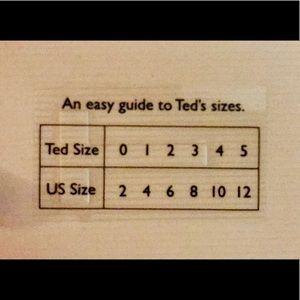 Ted Baker London Swim - Ted Baker CAMILAA size 34DD/E NWOT SUIT